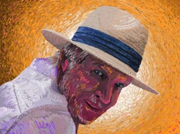 Dick naar Van Gogh.1000