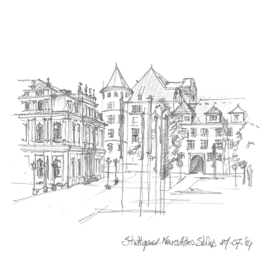 Stuttgard-Neues Altes Schloss.1000